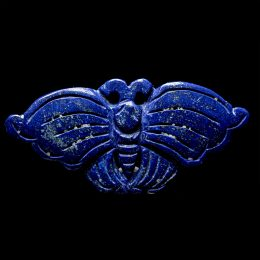 Lapis Carved Butterfly