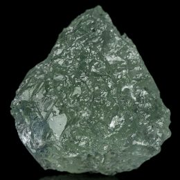 Optical Clear Green Fluorite Crystal With Elestial Form