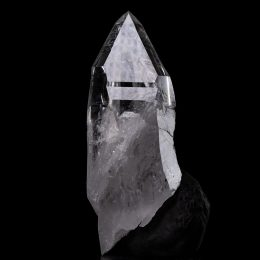 Large Colombian Silver Light Lemurian Seed Rainbow Isis Twin Quartz Crystal